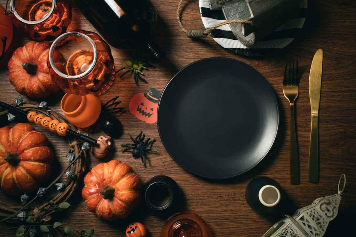 Come decorare la tavola di Halloween