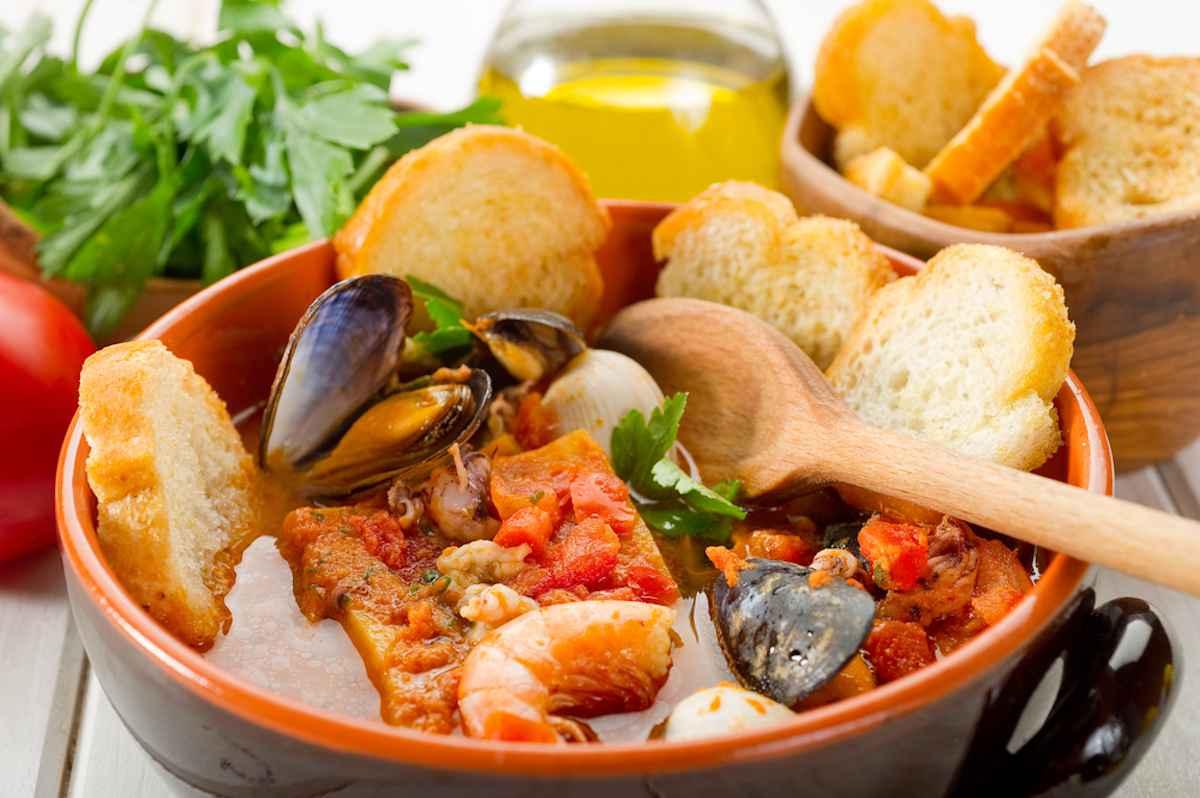 Caciucco - Zuppa di pesce livornese