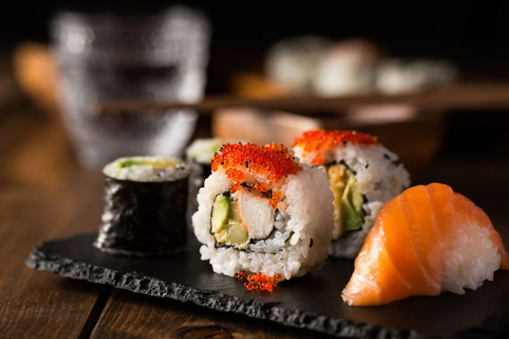 Sushi ricette