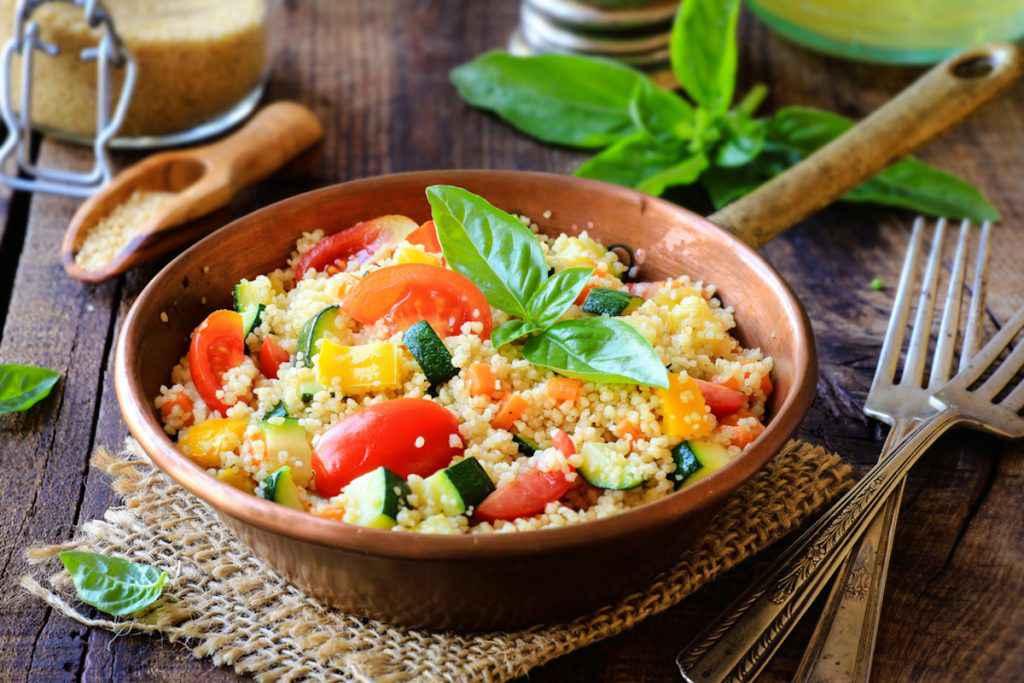 Ricette vegetariane estive: cous cous light