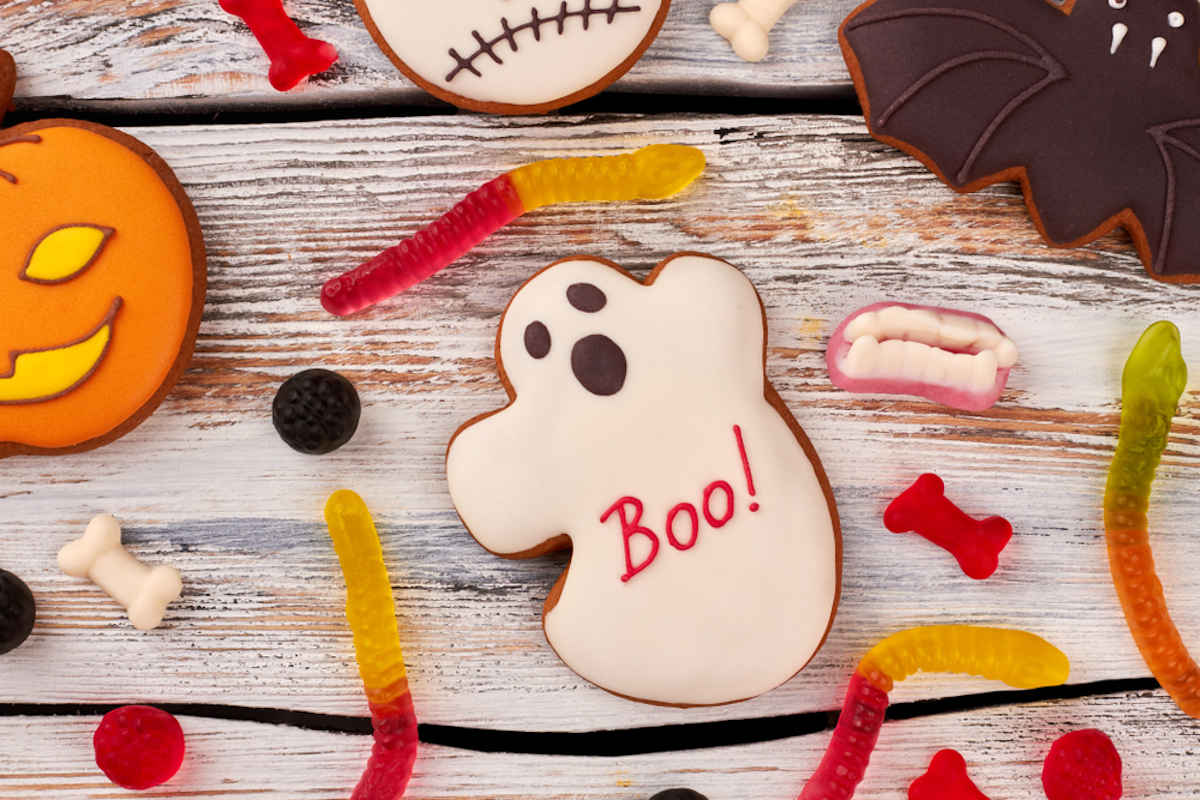 Caramelle gommose spaventose per Halloween