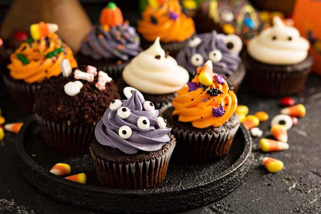 Cupcake divertenti per Halloween