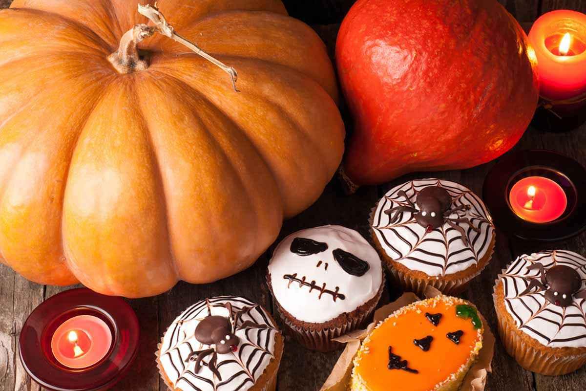 Mini muffin di Halloween per bambini