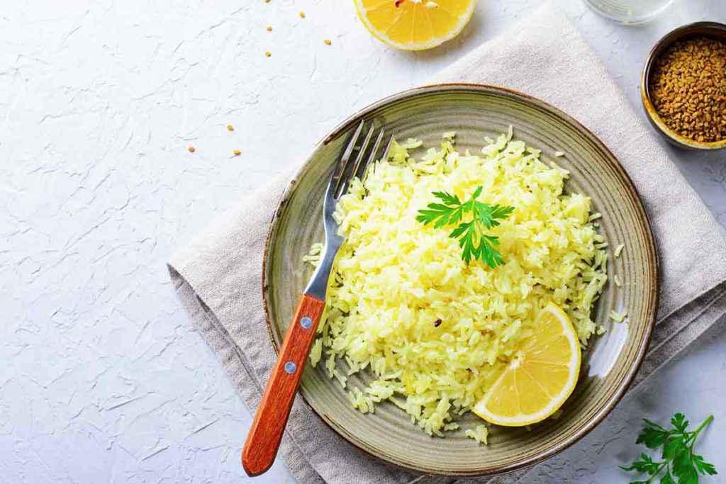 Risotto limone e zenzero