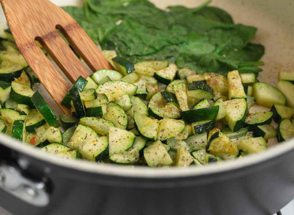 Zucchine trifolate con Bimby