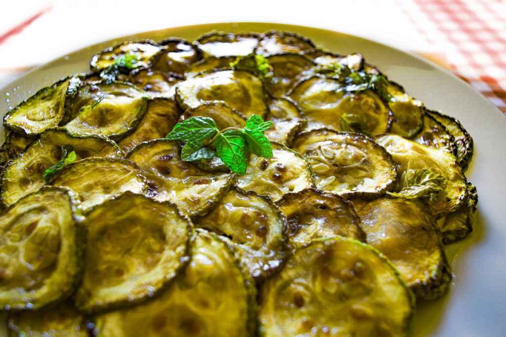 Zucchine trifolate con uova