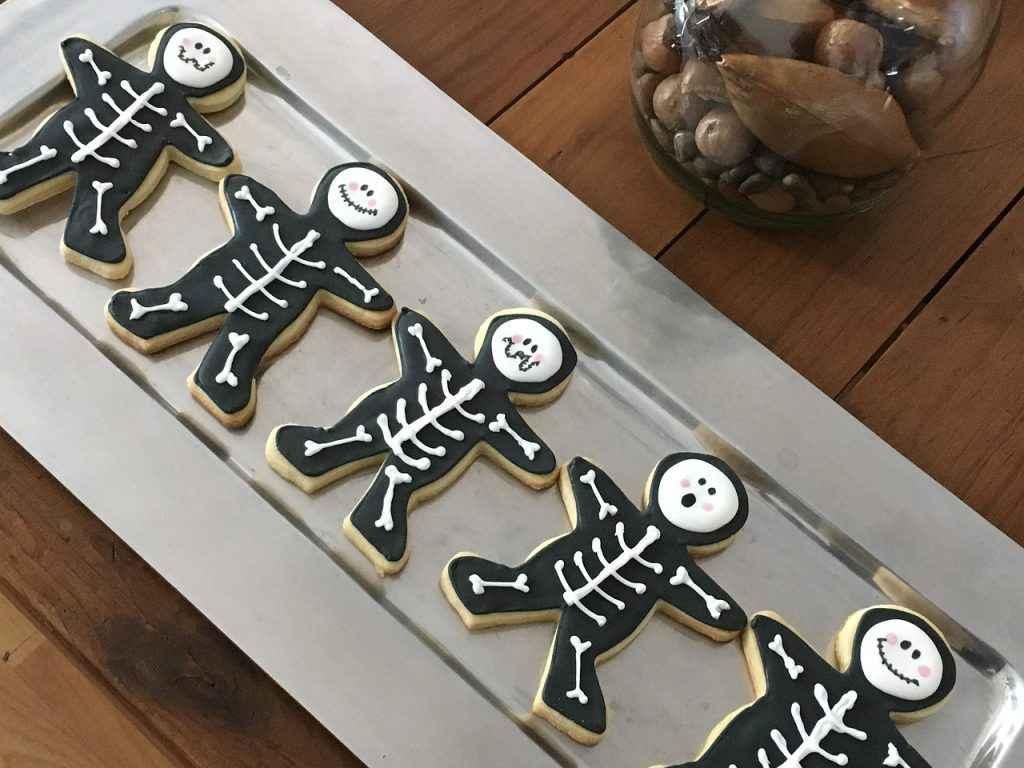 biscotti halloween di pasta frolla