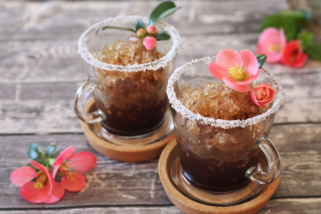 Granita siciliana al caffè
