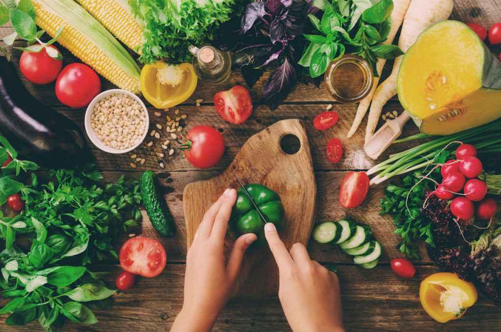 Lista delle verdure che si possono mangiare crude