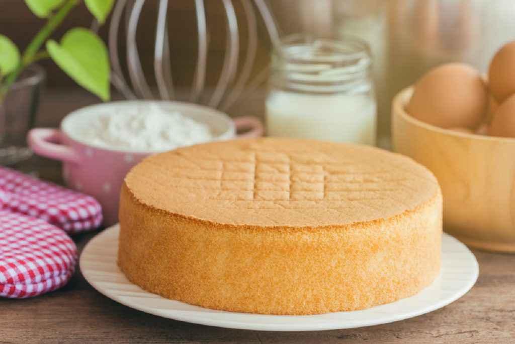 come conservare il pan di spagna