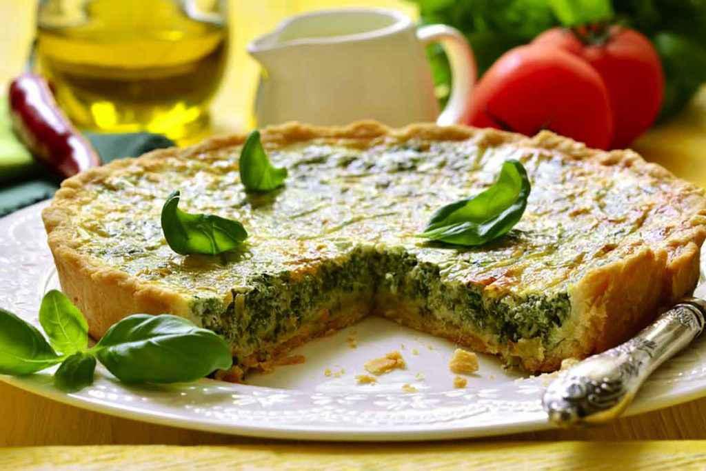 Quiche di spinaci