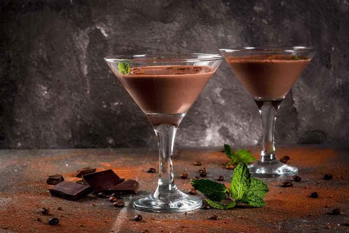 Liquore al cioccolato fatto con il Bimby