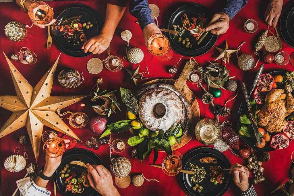 Pranzo di Natale tradizionale