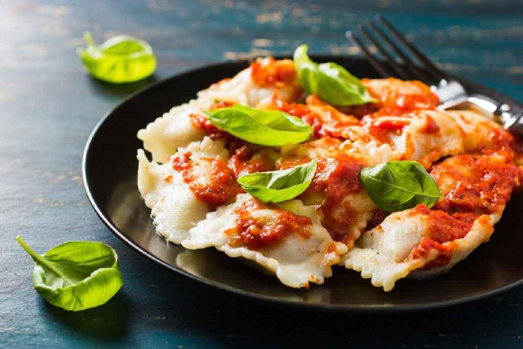 ravioli ricotta e spinaci senza uova