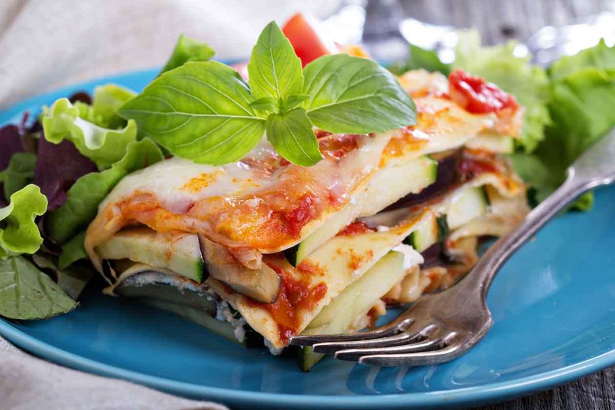 Lasagna verdure grigliate
