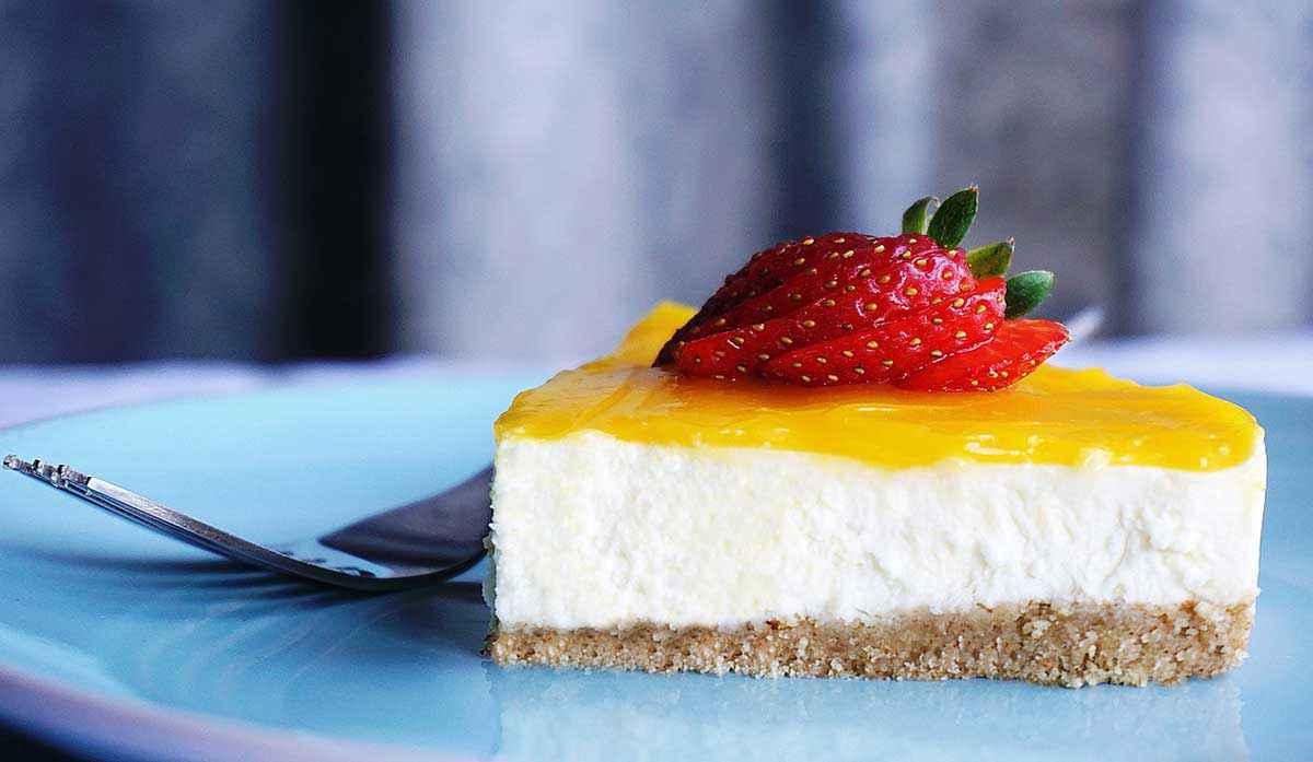 cheesecake al limone senza forno