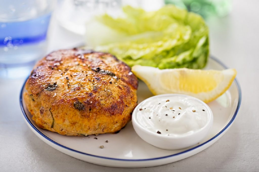tortino con salmone affumicato