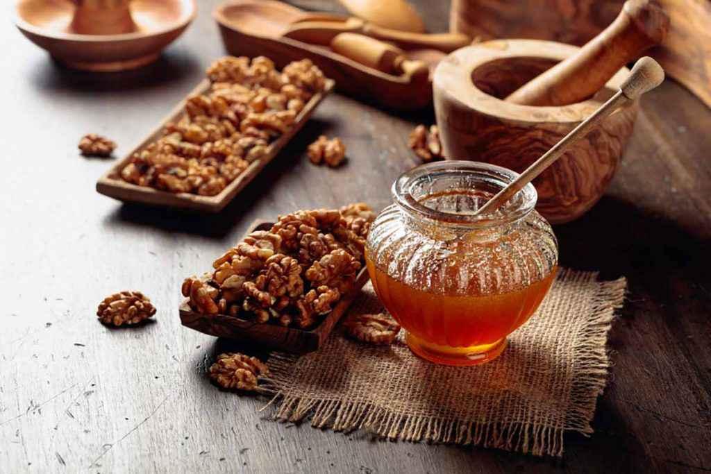 Croccante miele e noci