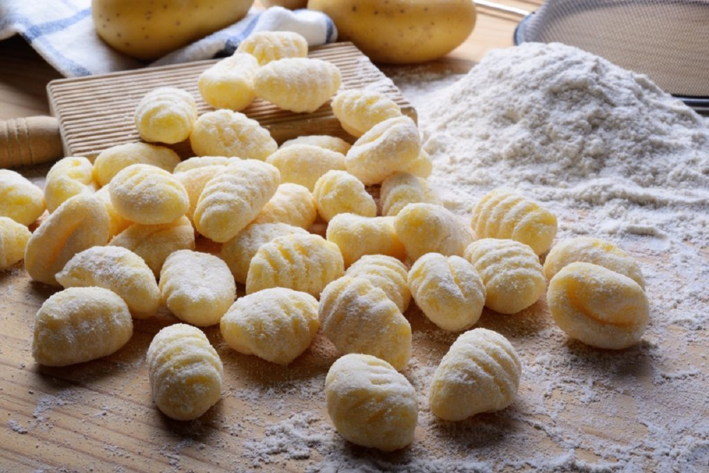 gnocchi di patate senza uova morbidi