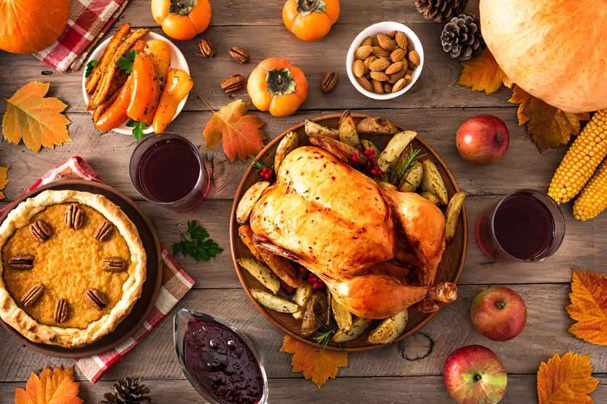Menu Giorno del Ringraziamento