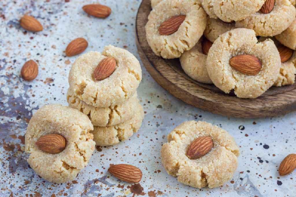 biscotti sardi con le mandorle