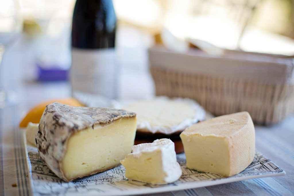 piatto di formaggi misti