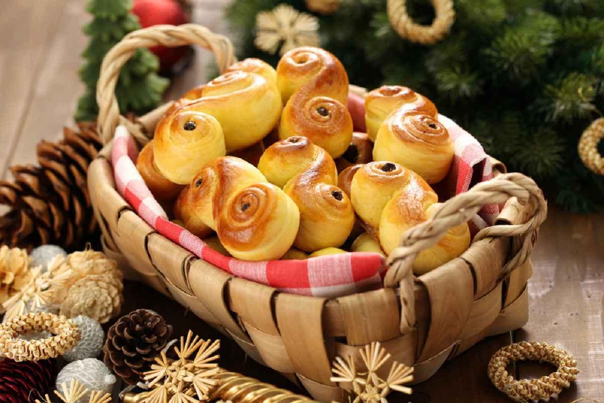 lussekatter dolci di santa lucia