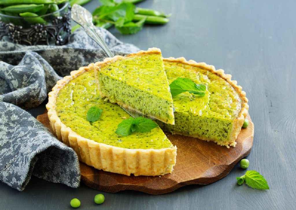 torta salata con legumi