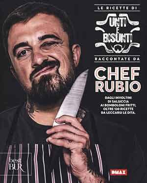 Libro di ricette di chef Rubio