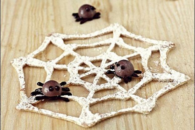 Biscotti halloween ragnatela