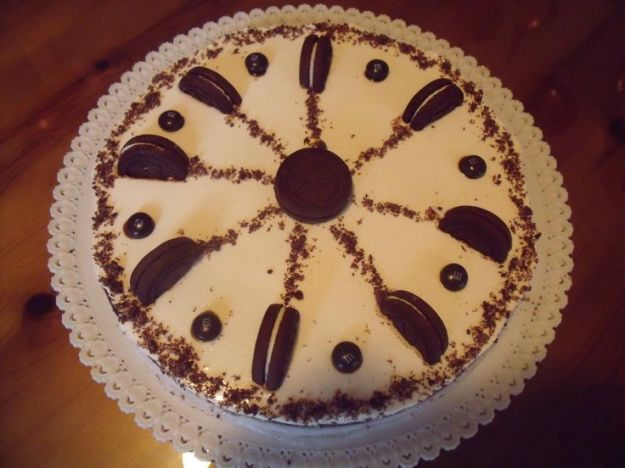 Black Ringo cake