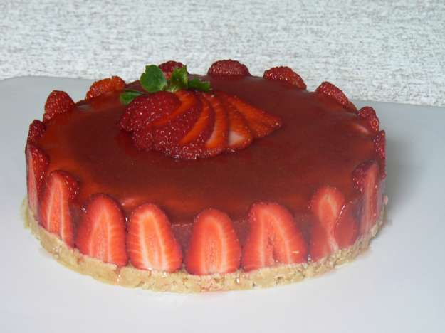 Cheesecake alla fragola