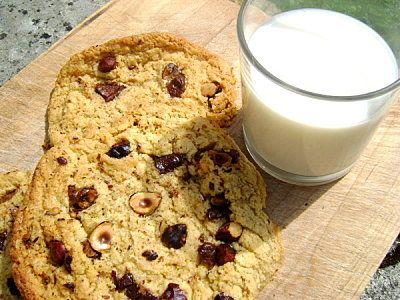 Cookies nocciole cioccolato