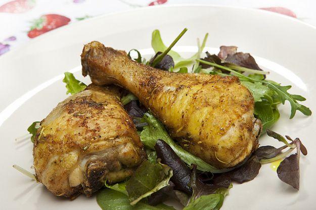 Cosce di pollo alle spezie