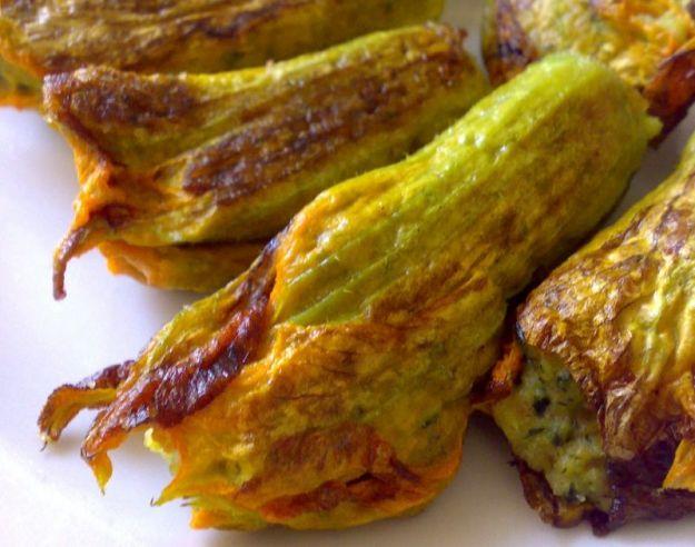 Fiori Zucchine Ricette.Fiori Di Zucca Al Forno Light Buttalapasta