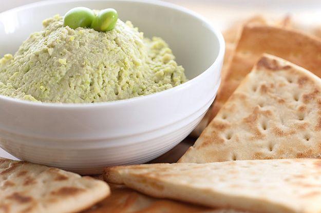 Hummus di edamame