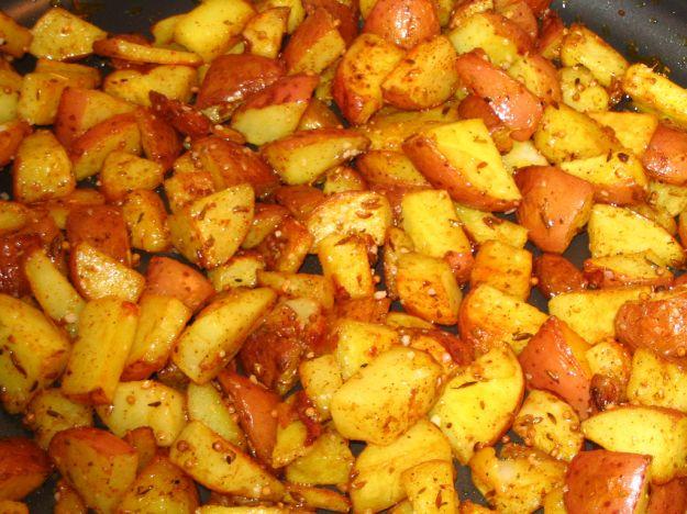 Insalata di patate la curry