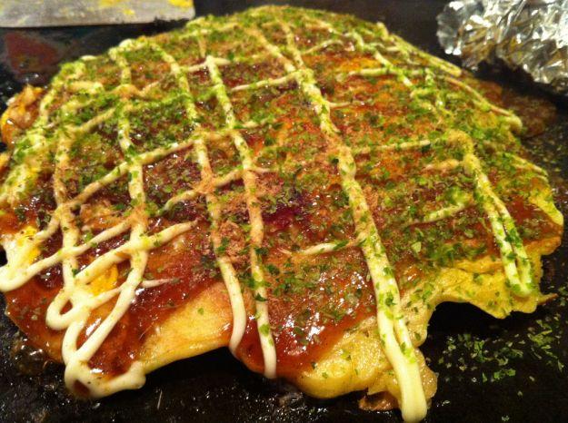 Okonomiyaki giapponesi