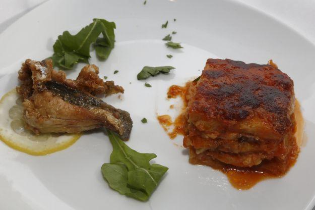 Parmigiana pesce spada