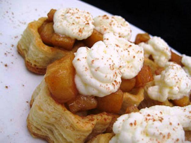 Pasticcini alle mele e burro di arachidi