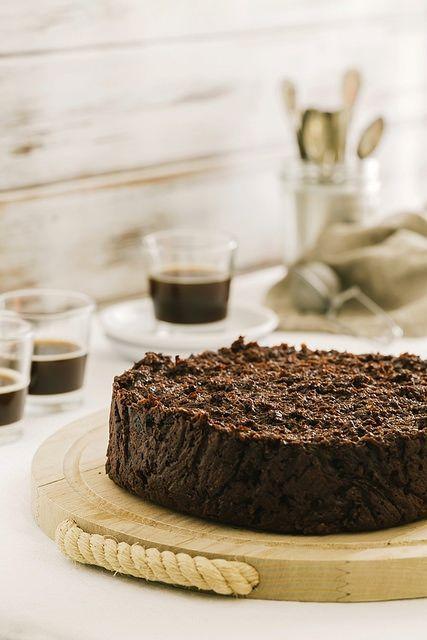 Torta di pane e cioccolato o pacciarella