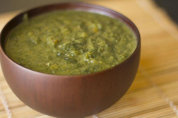 Zuppa di spinaci e limone