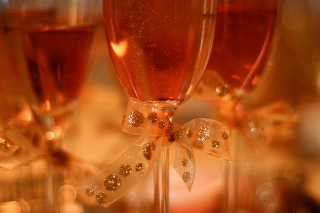 aperitivo san valentino champagne cocktail rosa