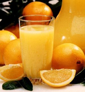 arance e succo