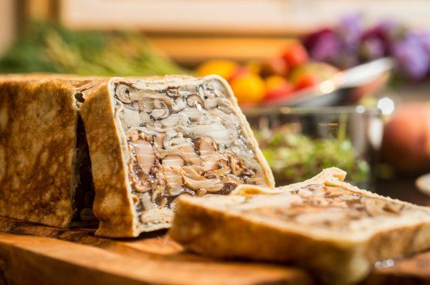 aspic funghi ricetta