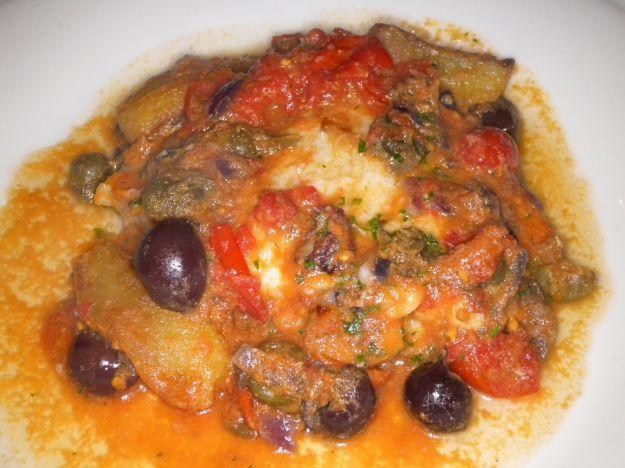 Baccalà alla siciliana