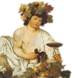 Bacco, il dio del vino
