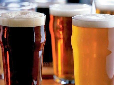 bicchieri di birra fatta in casa
