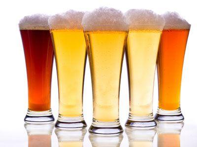 bicchieri di birre