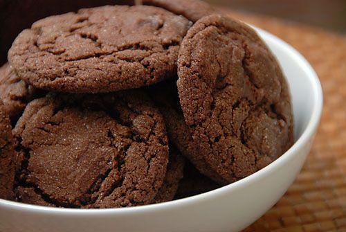 I biscotti al cioccolato preparati col cacao